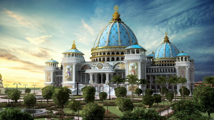 TOVP Temple of the Vedic Planetarium - Mayapur, India