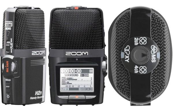 Registratore digitale portatile XY e MS - 4 tracce MP3/WAV/BWF - Zoom H2n (costo circa 150 euro)