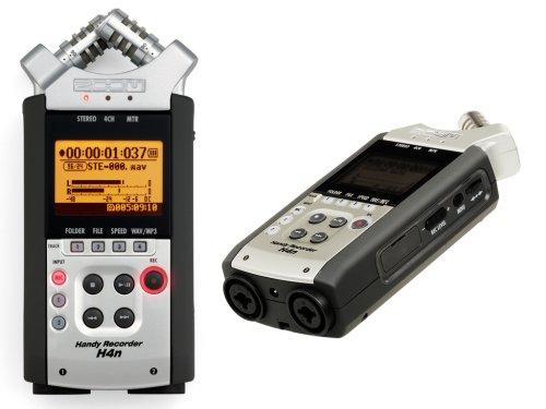 Registratore digitale portatile 4 tracce MP3/WAV/BWF Zoom H4n (costo circa 250 euro)