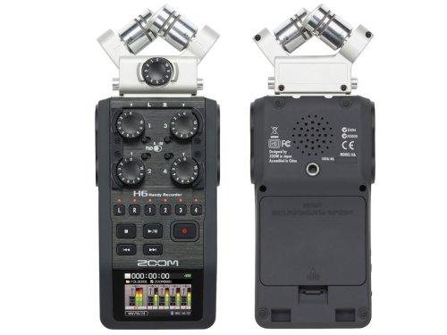 Registratore digitale portatile 6 tracce MP3/WAV/BWF Zoom H6 (costo circa 350 euro)