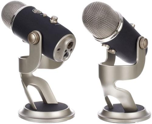 Microfono stereo/bidirezionale/omnidirezionale professionale Blue Yeti Pro (costo circa 250 euro)
