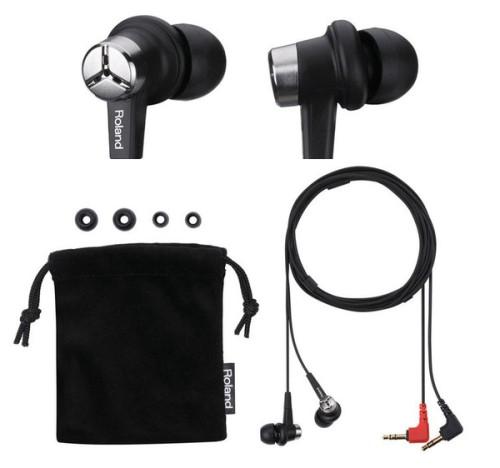 Microfono auricolare stereo/binaurale Roland CS 10 EM (costo circa 120 euro)